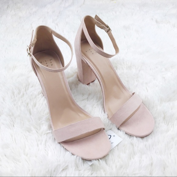 55b87b060 A New Day Shoes | Ema High Block Heel Pumps Blush Pink 11 | Poshmark